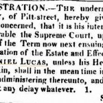 letter of Notice 1 e Sydney Gazette and New South Wales Advertiser (NSW  1803 - 1842) Saturday 25 July 1818