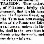 letter of Notice 3 e Sydney Gazette and New South Wales Advertiser (NSW  1803 - 1842) Saturday 8 August 1818